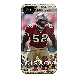 CharlesPoirier Iphone 4/4s Shockproof Cell-phone Hard Cover Custom High Resolution San Francisco 49ers Series [ada376mPGb]