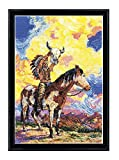 Design Works Native American Sunset Counted Cross Stitch Kit