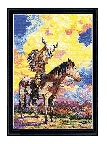 - Design Works Native American Sunset Counted Cross Stitch Kit