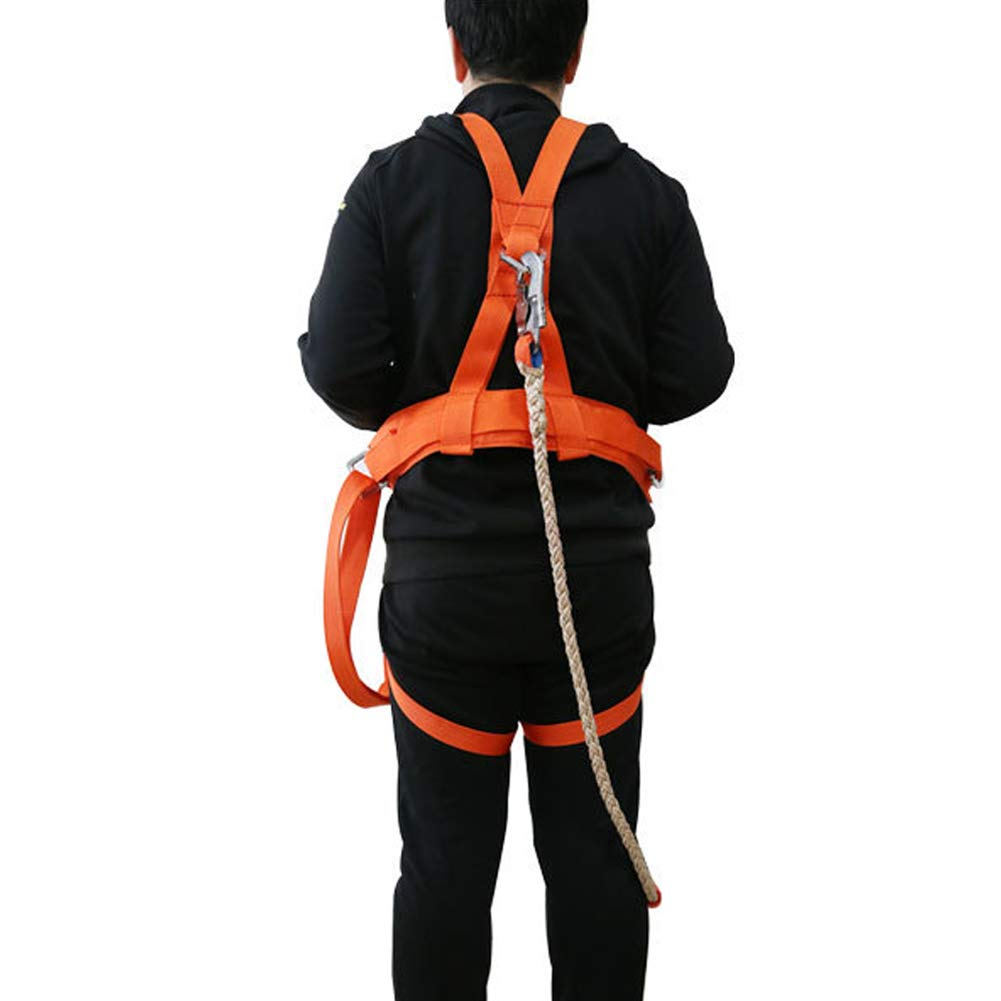 Seat Belt Aerial Work Double Insurance seat Belt Electrician Electric Safety Belt Fall Protection Belt by HENRYY (Image #5)