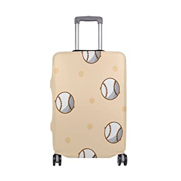 Baseball Suitcase Protector Travel Luggage Cover Fit