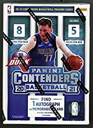 2020/2021 Panini Contenders NBA Basketball Sealed 40 Card Blaster Box - Look for Lamelo Ball Wiseman Rookie an