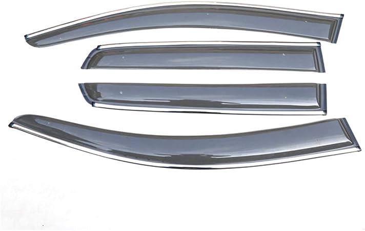 Allyard Für Vw Passat 2011 2018 Auto Seitenscheibe Visiere Deflectors Window Visier Regen Wind Außenkantenschutz Windabweiser Regenabweiser Dekoration 4stück Auto