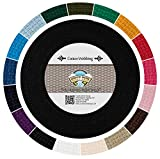 Country Brook Design - Heavy Cotton Webbing with 17 Vibrant Color Options