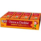 Keebler Cheese/Cheddar Sandwich Crackers, 8-Count, 11-Ounces package  (Pack of 6)