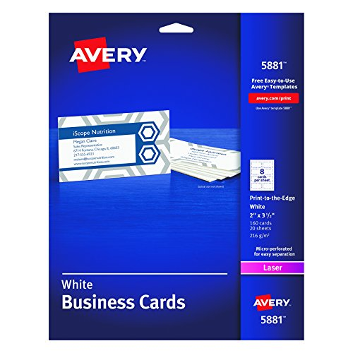 avery 5881 template