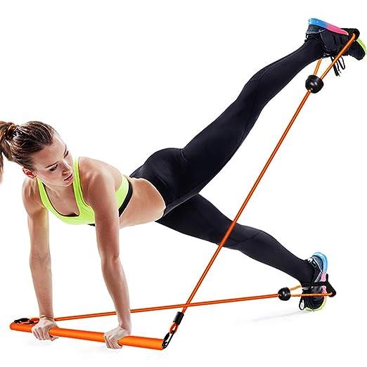 SJJOZZ Barra de Yoga Pilates Barra de Entrenamiento físico ...