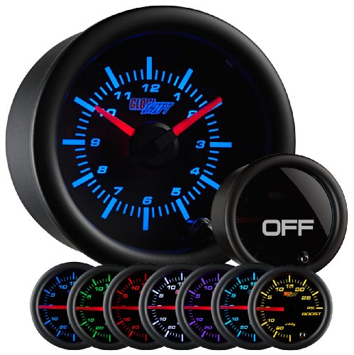 GlowShift Tinted Color Clock Gauge product image