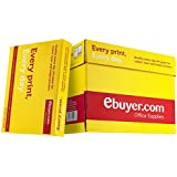 Ebuyer.com Everyday 80gsm A4 Printer Paper - 1 Box Containing 5 Reams of 500 sheets - 2500 pages total