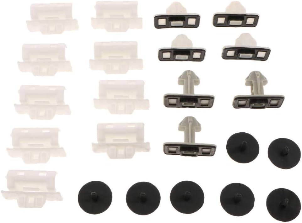 Toygogo 23 Pinces//Jeu De Clips De Moulage pour Panneau De Retenue 4G0898909 pour