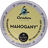 Caribou Coffee, Mahogany, K-Cup Portion Pack for Keurig K-Cup Brewers (Pack of 48)