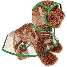 Big Promotion!!Farjing Pet Rain Coat Transparent Raincoat Outdoor Jacket Dog Puppy Clothes Waterproof