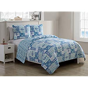 51pUaKVfnIL._SS300_ Coastal Bedding Sets & Beach Bedding Sets