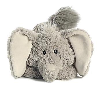 Aurora World Tushies Animals Trumpeter Elephant Plush 1