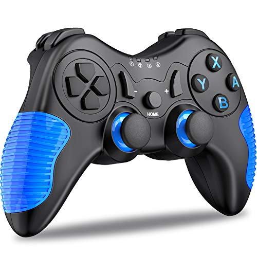 Switch Controller for Nintendo Switch, [2019 Design ] Wireless Pro Controller with Motion & Adjustable Strong Vibration Feedback