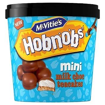 McVities quemador nobs Mini chocolate con leche teacakes 210 ...