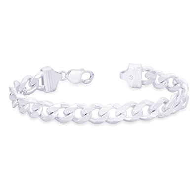 Taraash 925 Sterling Silver Bracelet For Men Silver-ACDH3006C8HIN <span at amazon