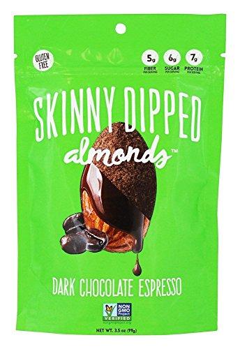Skinny Dipped Almonds, Dark Chocolate Espresso , 3.5 oz