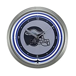 Things2Die4 NFL Philadelphia Eagles 15 inch Neon Wall or Tabletop Clock