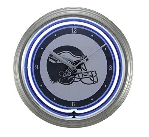 Things2Die4 NFL Philadelphia Eagles 15 inch Neon Wall or Tabletop Clock