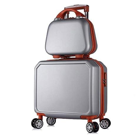 La maleta Trolley de Equipaje Dos Piezas Traje de 16 ...
