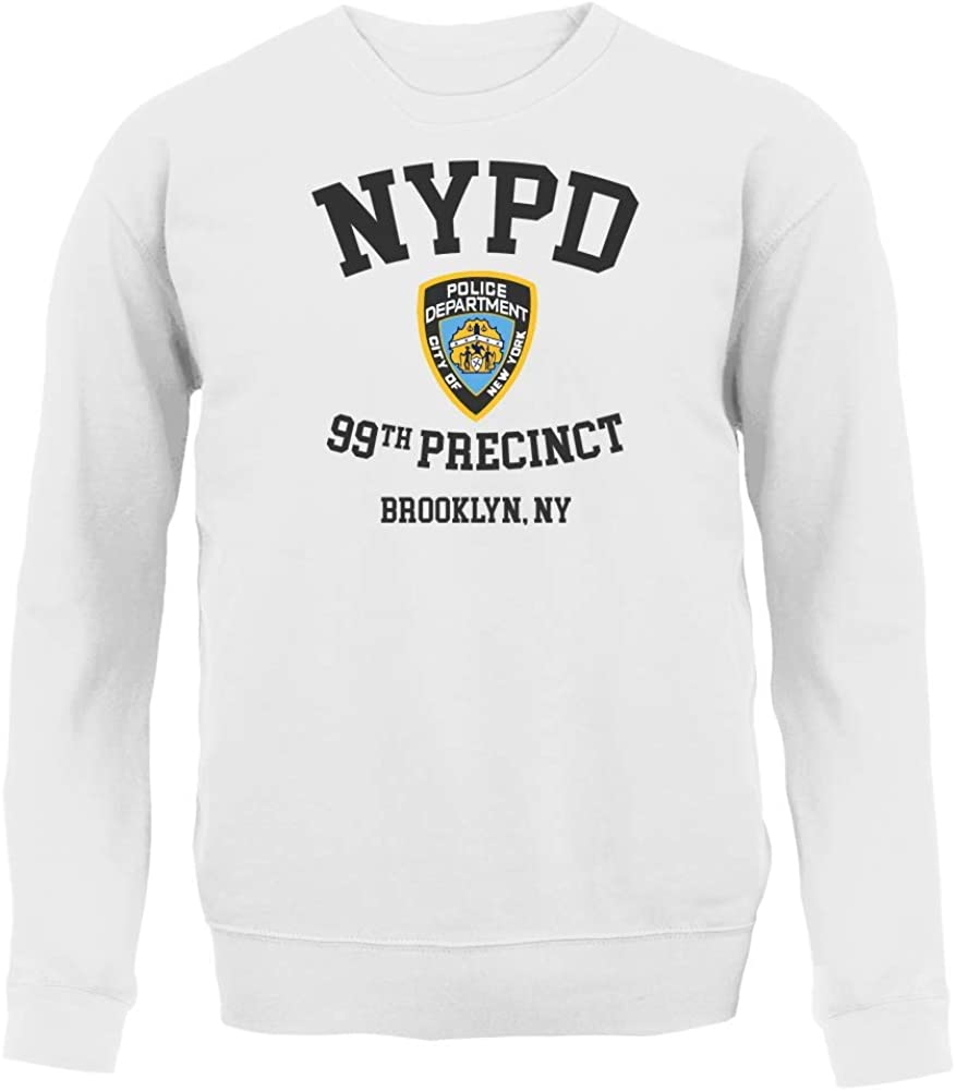 Cloud City 7 Brookling 99th Precinct Brooklyn Nine Nine Womens Sweatshirt