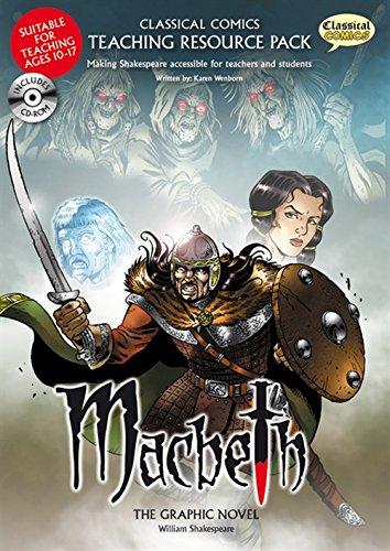 Macbeth Teaching Resource Pack  Classical Comics Teaching Resource Pack