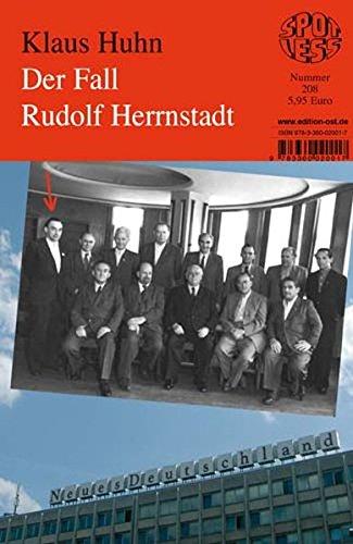 Der Fall Rudolf Herrnstadt, Band 208 (Spotless)