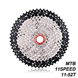 Black Silver 11 Speed 52T Mountain Flywheel Bicycle Flywheel by ZTTO