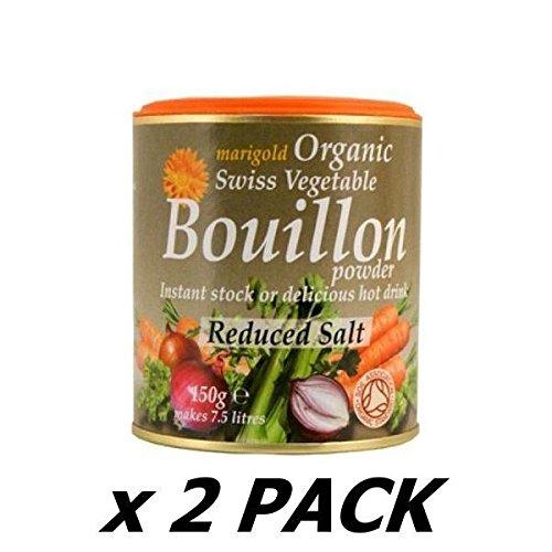 Organic Reduced Salt Bouillon Powder - 140g