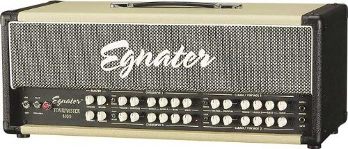 Egnater Tourmaster Series 4100 100W All-Tube Guitar Amp Head Black, Beige by Egnater