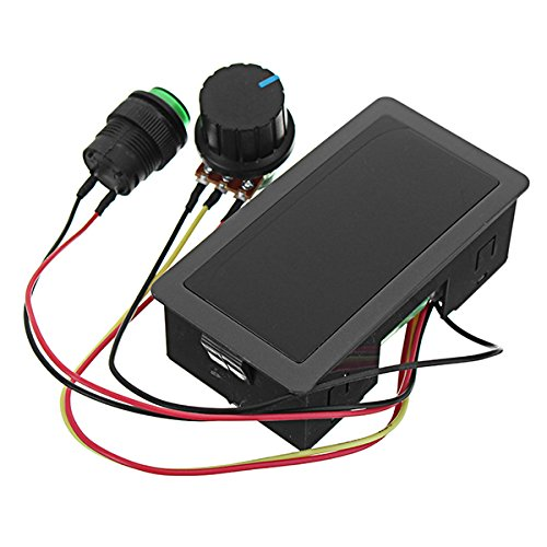 LaDicha Ccm5D Dc 6V-30V 6A 16Khz Dc Motor Speed Controller Led Digital Display 6V 12V 24V 6A 8A Pwm Variable Speed Regulator With Shell
