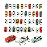 MAY.T N Gauge Plastic Model Cars with Road Tapes