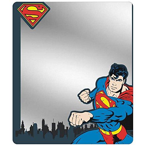 Locker Mirror - Superman Shield/Punching Pose/Skyline Blues