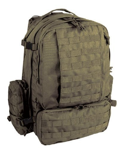 Voodoo Tactical Tobago Cargo Backpack/Pack in OD Green #15-7866 OD Green [並行輸入品] B07R4V24SD