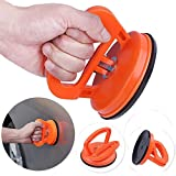 Alotm 4.5″ Vacuum Suction Cup Handle Car Dent Puller Repair Remover Tool Set – Fix Any Dent in Seconds – Lifting Glass – Move Glass Window and Flat Surfaces with Minimal Force Large (Orange)