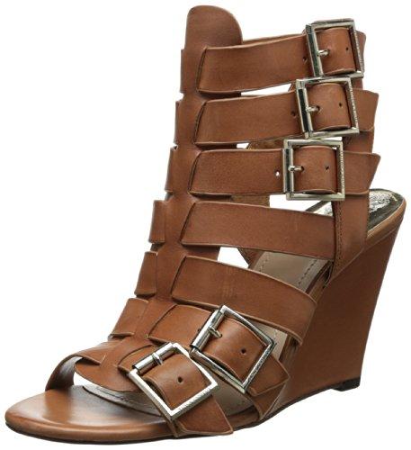 Vince Camuto Women's Martez Wedge Sandal,Fudge,7 M (Sandals Fudge)