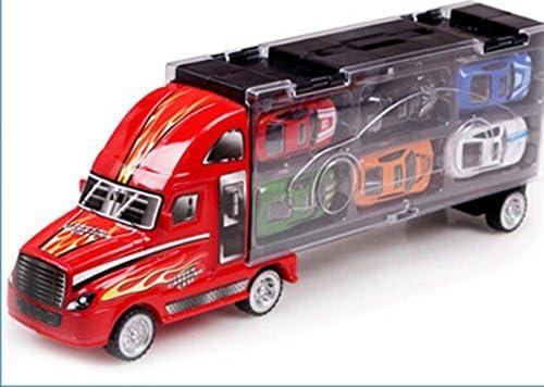 13pcs Mini modèle de voitures jouet éducatif pour les enfants - Camion charge véhicule