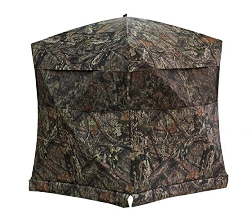 Rhino Blinds Rhino-200 Ground Blind - Mossy Oak Break Up Country