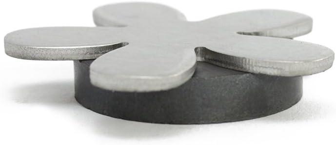 Morsetto Magnetico per tovaglie 42 g Pesi tovaglie in Acciaio Inossidabile com-four/® 8X Peso tovaglia