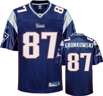 on sale 99dbb d15b8 Amazon.com : Rob Gronkowski Youth Jersey: Reebok Navy New ...