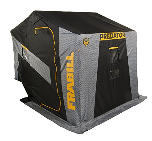 Frabill Predator 4255 Insulated Flip-Over Side Door W/Boat Seats