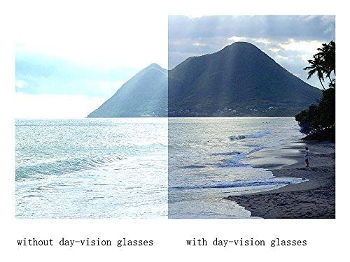 Cadre de en Lunettes métal conduite Lunettes Lens vision Aviator HD pour classique nocturne Yellow Unisexe de gold soleil qgzwtHPx71