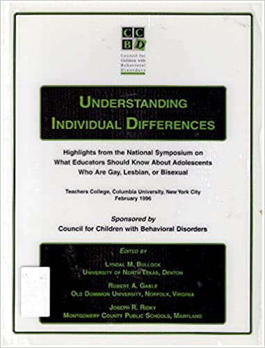Symposium on Understanding Individual Differences