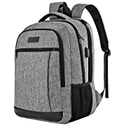 QINOL Travel Laptop Backpack Anti-Theft Work Bookbags With Usb Charging Port, Water Resistant 15.6 Inch College Computer…
