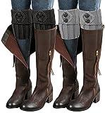 2 Pairs Womens Boot Leg Cuffs