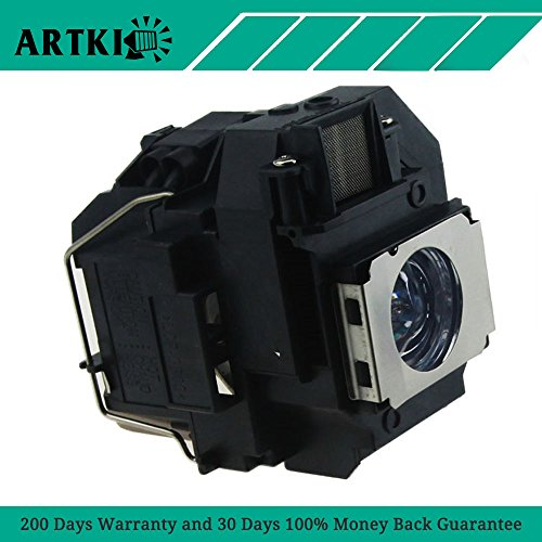 ELPLP55 / V13H010L55 Replacement Lamp for Epson EX31 EX51 EX71 H311B H328A H331A PowerLite 79 S7 S8+ W7