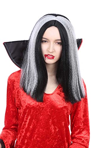 Banana Costume Short Vampiress Wig -