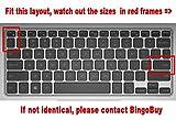 BingoBuy US Layout Keyboard Protector Skin Cover