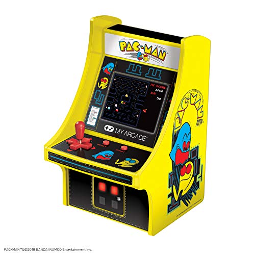 My Arcade Pac-Man Micro Player - 6.75 Inch Mini Retro for sale  Delivered anywhere in USA